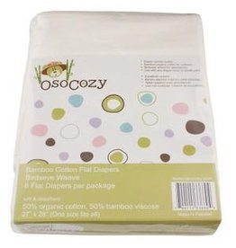 OsoCozy OsoCozy Bamboo Flat Diapers