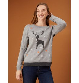 White Stuff White Stuff Maurice Moose Sweater