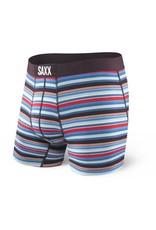 Saxx Saxx Vibe Boxer Modern Fit - Berry Camp Stripe