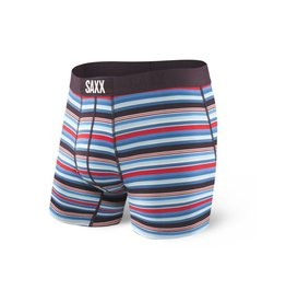 Saxx Saxx Vibe Boxer Modern Fit - Berry Camp Stripe