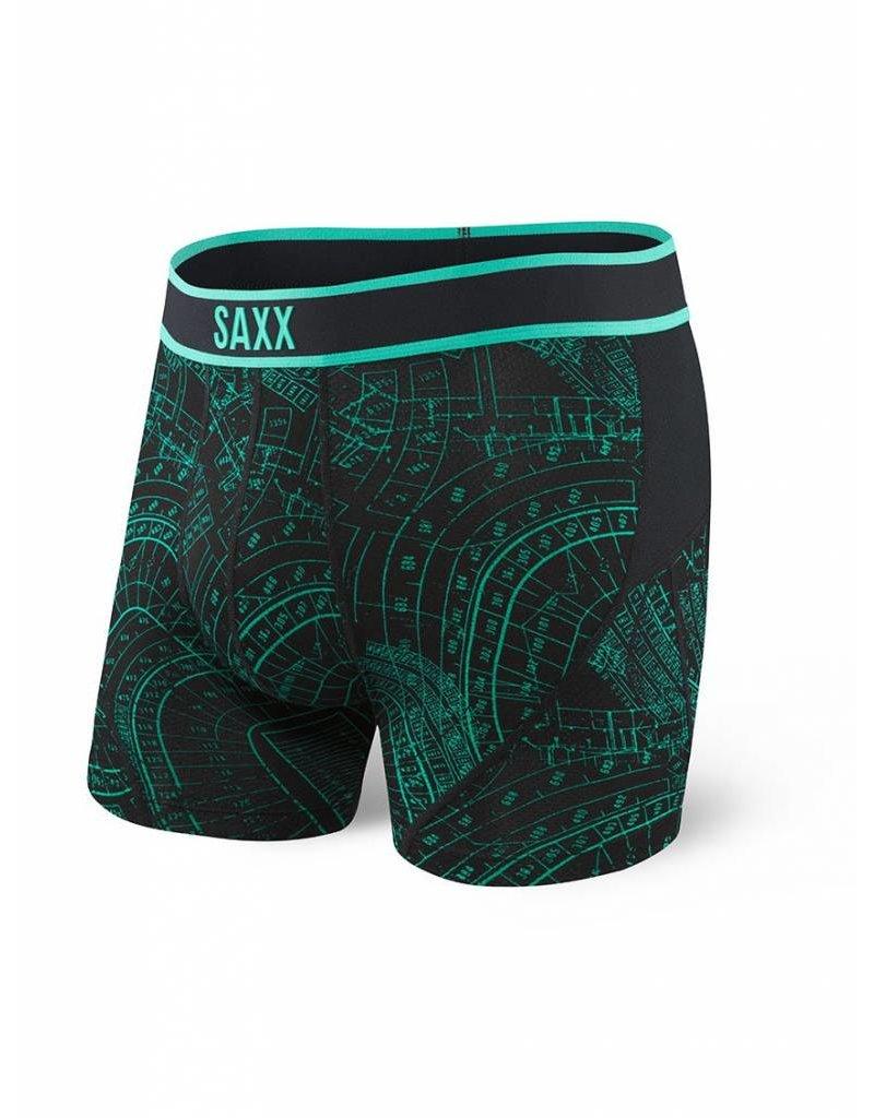 Saxx Saxx Kinetic Boxer - Grid Iron
