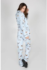 PJ Salvage PJ Salvage Flannels Doggone Tired PJ Set