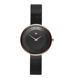 MVMT Mod 32mm Watch - black/rose metal