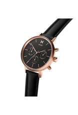 MVMT Nova Vela Watch - rose gold/black