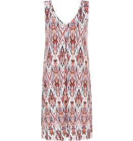 Tribal Tribal Sleeveless Box Pleat Dress