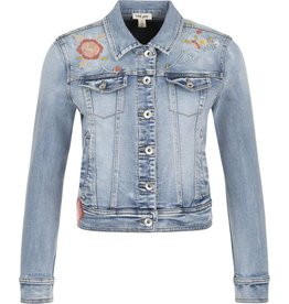 Tribal Tribal Jean Jacket with Embroidery