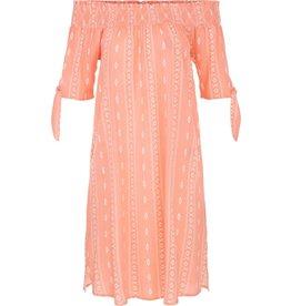 Tribal Tribal Off Shoulder Dress with Pockets