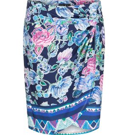 Tribal Tribal Wrap Skirt with Pleats