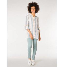 Yest Yest Linen Stripe Tunic