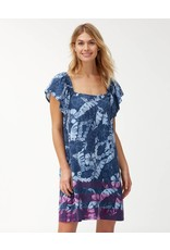 Tommy Bahama Peeky Fronds Smock Dress