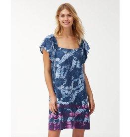 Tommy Bahama Peeky Fronds Smock Dress