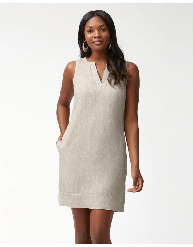 6ede2d6a39 Tommy Bahama Seaglass Linen Shift Dress - Grace the Boutique