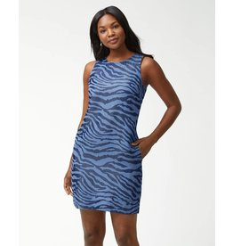 Tommy Bahama Zebra Chambray Dress