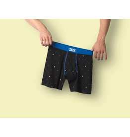 Saxx Saxx Ultra Boxer Brief Fly - Black Diamond Check