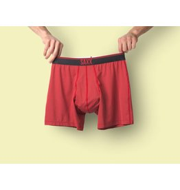 Saxx Saxx Quest Boxer Brief Fly - Red