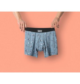 Saxx Saxx Vibe Boxer Brief - Grey Mavericks