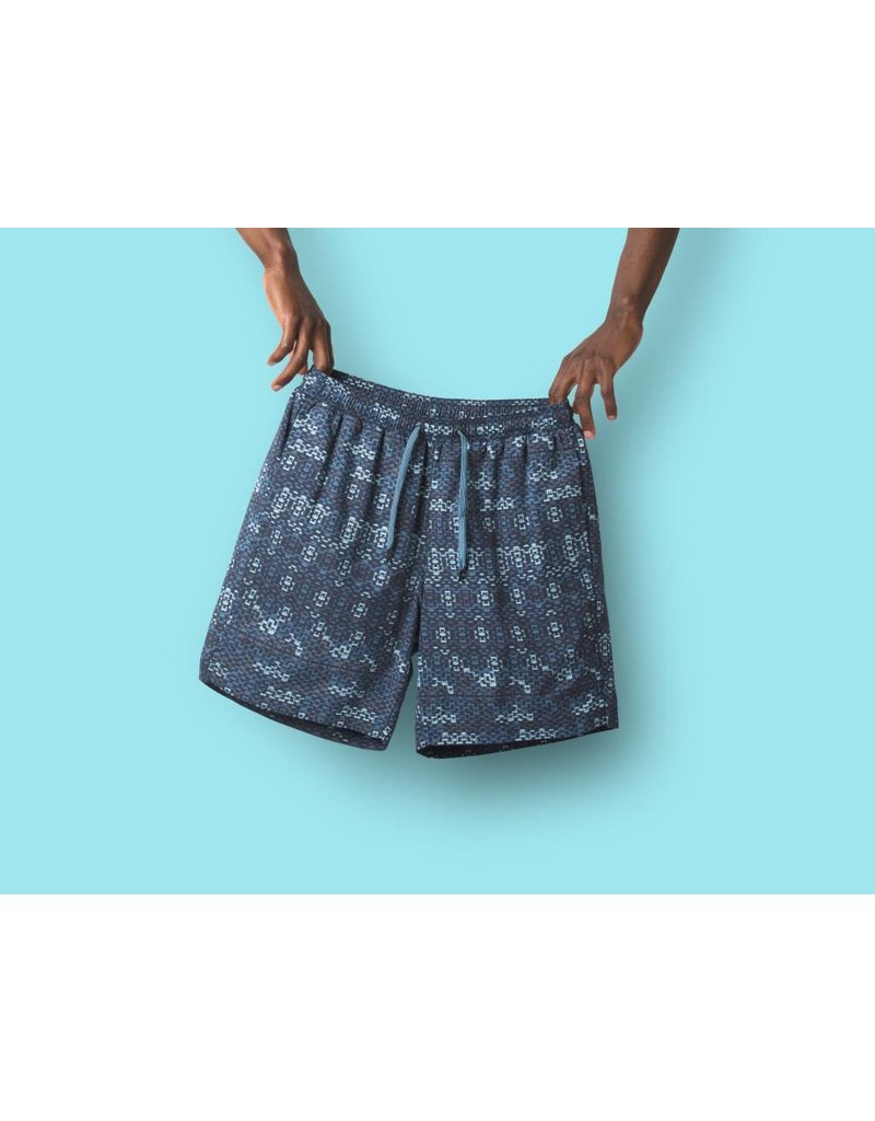 Saxx Saxx Cannonball 2n1 Short - Blue Waterfall