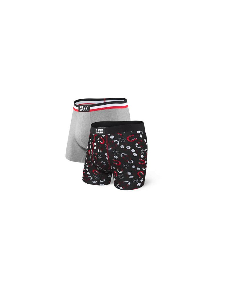 Saxx Saxx Vibe Boxer Brief 2 Pack - Lucky Pack