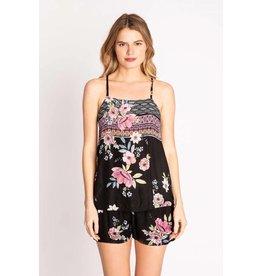 PJ Salvage PJ Salvage Bonita Beach Floral Cami + Short