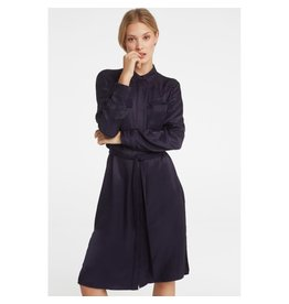 Yaya Yaya Dress Satin Contrast Pockets