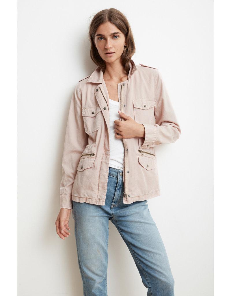 Velvet Velvet Ruby Cotton Twill Jacket