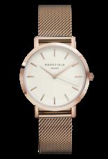 Rosefield Rosefield Tribeca Rose Gold Mesh Watch