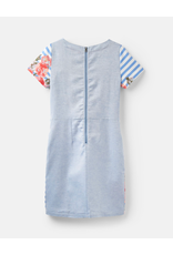 Joules Joules Ottie Blue Stripe Floral Dress
