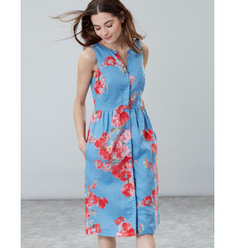 Joules Joules Lisia Blue Floral Dress