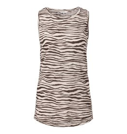 Yaya Yaya Jersey Zebra Sleeveless Top