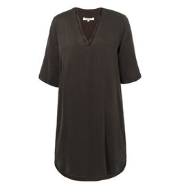 Yaya Yaya Double V Neck Dress