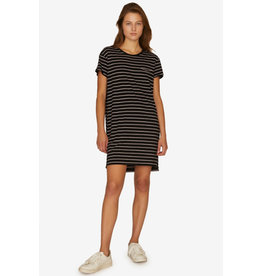 Sanctuary Sanctuary One Pocket T-Shirt Dress Stripe