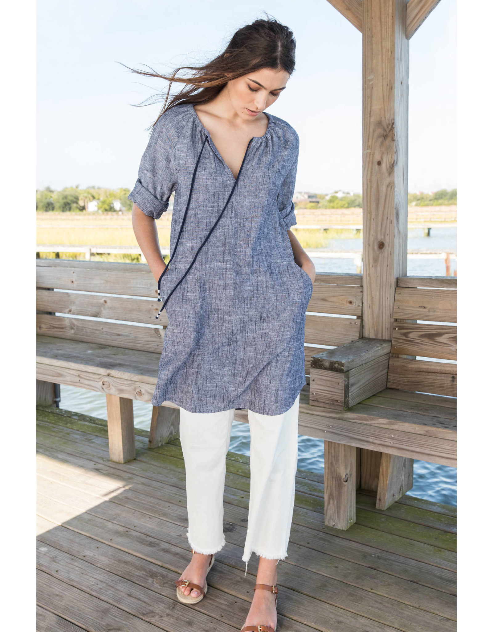 Lilla P Lilla P Tunic Dress - XL ONLY