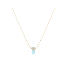 Melanie Auld Melanie Auld Lumos Necklace - Aquamarine