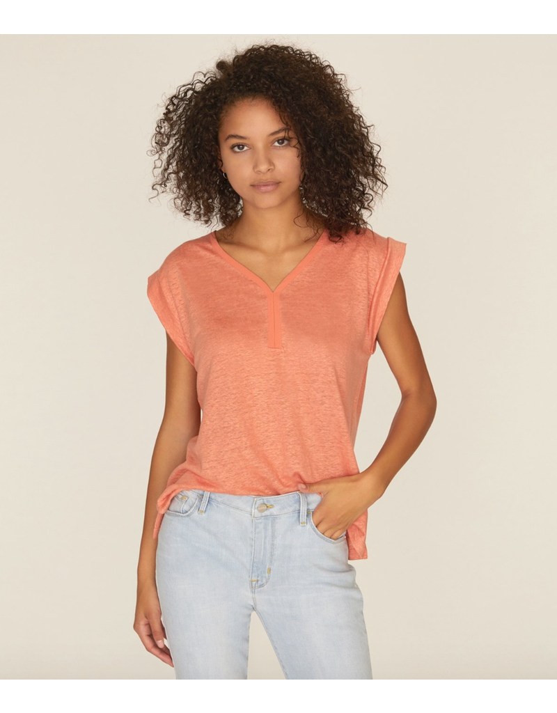 Sanctuary Sanctuary Laura V Neck Tee