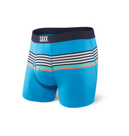 Saxx Saxx Ultra Boxer Brief Fly - Blue Regatta Stripe