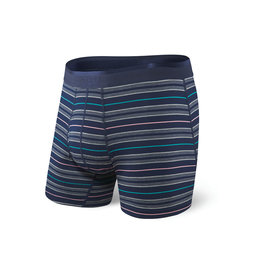Saxx Saxx Platinum Boxer Brief Fly - Navy Tidal Stripe