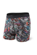 Saxx Saxx Platinum Boxer Brief Fly - Grey Heather Cubano