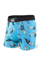 Saxx Saxx Vibe Boxer Brief - Blue Toucan