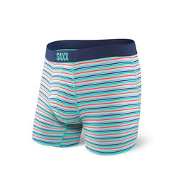 Saxx Saxx Vibe Boxer Brief - Blue Witty Stripe