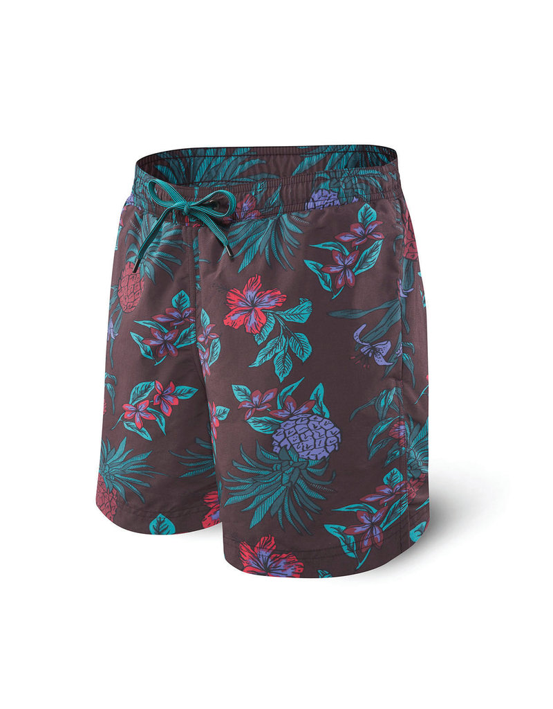 Saxx Saxx Cannonball 2N1 Short - Red Pineapple Party
