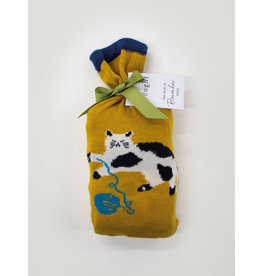 Thought Thought Kitty Socks in a Bag