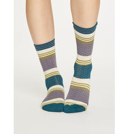 Thought Thought Dotty Stripe Socks