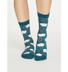Thought Thought Rainy Cloud Socks