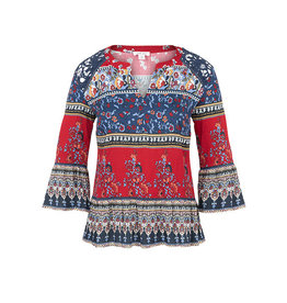 Tribal Tribal Fancy LS Blouse