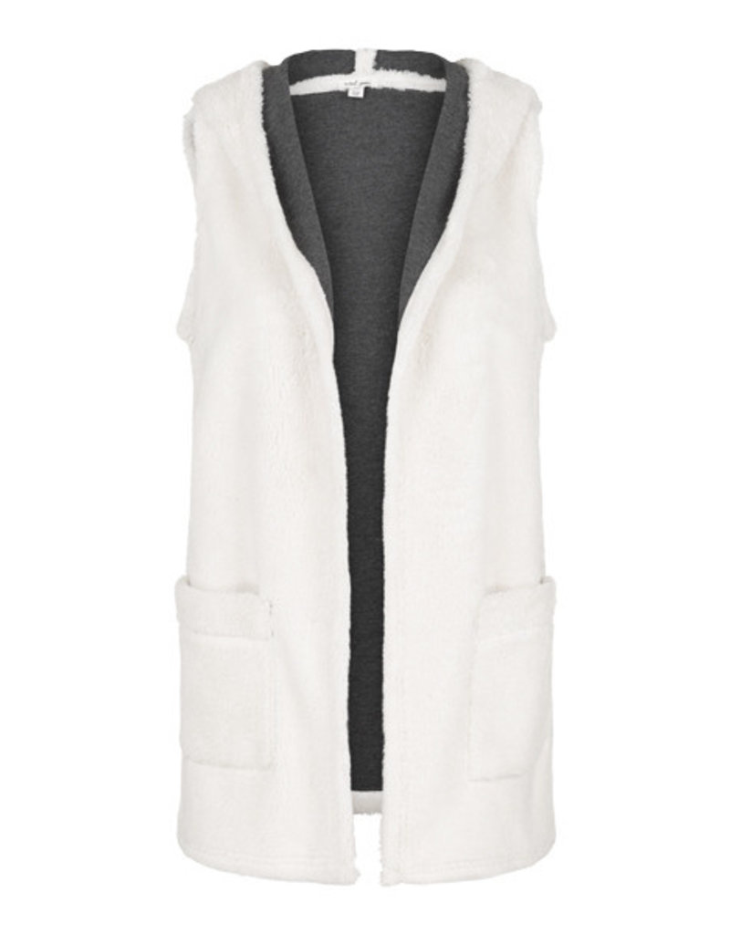 Tribal Tribal Vest with Hood and Pockets