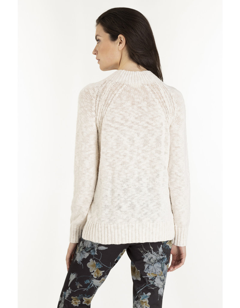 Tribal Tribal Long Sleeved Cable Sweater