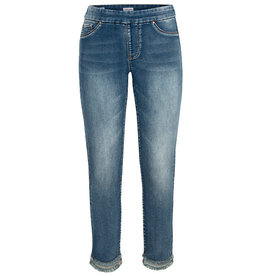 Tribal Tribal Audrey Pull On Jegging with Curved Hem