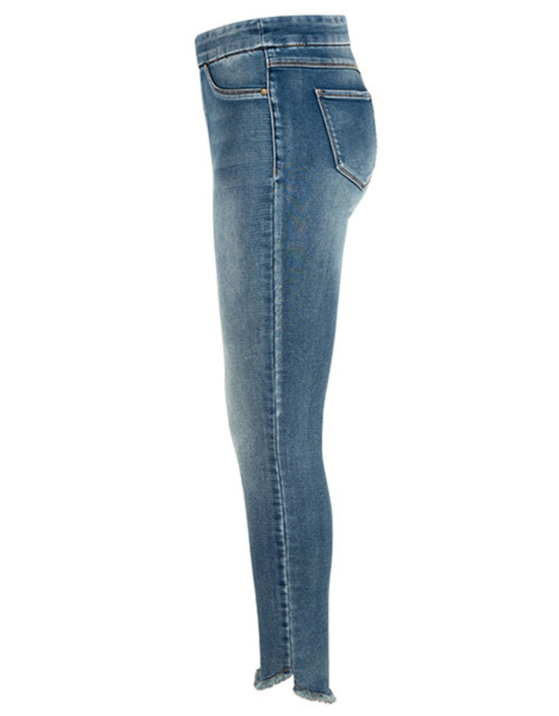Tribal Tribal Pull on Jegging with Curved Hem
