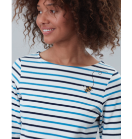 Joules Joules Harbour Embellished Tee