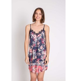 PJ Salvage PJ Salvage Midnight Garden Floral Chemise